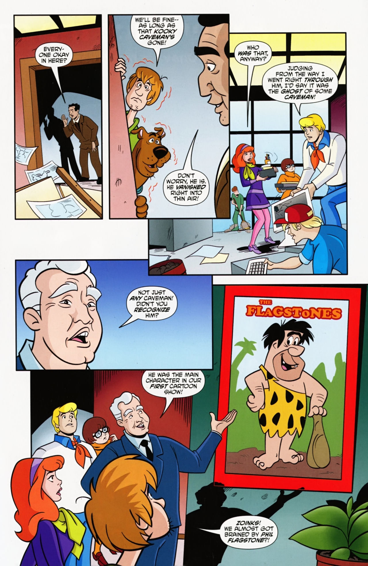 Read online Scooby-Doo: Where Are You? comic -  Issue #9 - 7