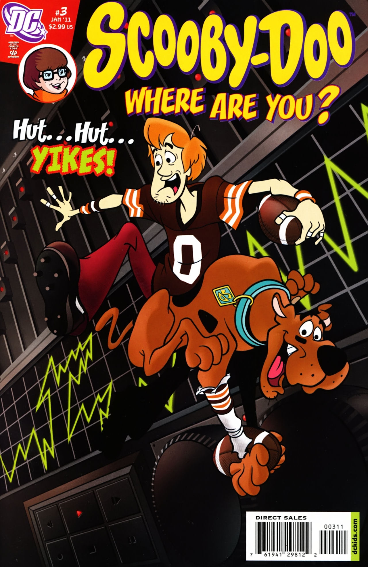 Read online Scooby-Doo: Where Are You? comic -  Issue #3 - 1