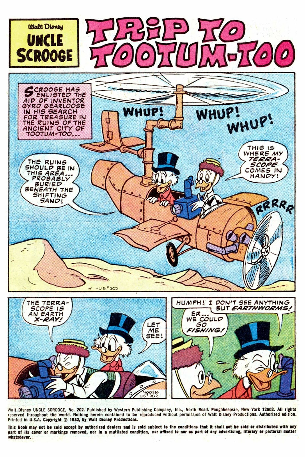 Uncle Scrooge (1953) Issue #202 #202 - English 3