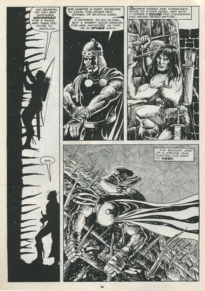 The Savage Sword Of Conan Issue #174 #175 - English 36