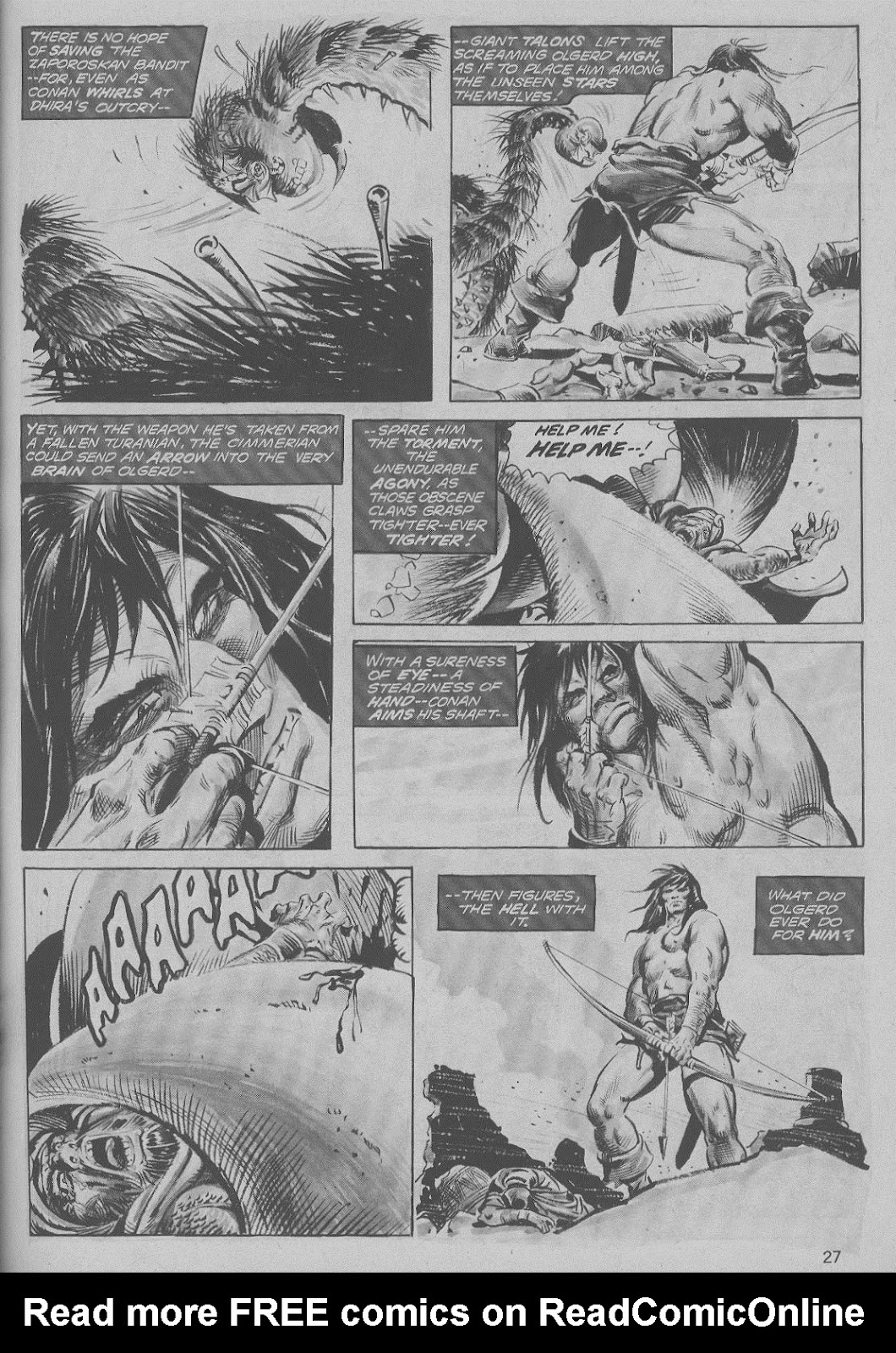 The Savage Sword Of Conan Issue #6 #7 - English 27