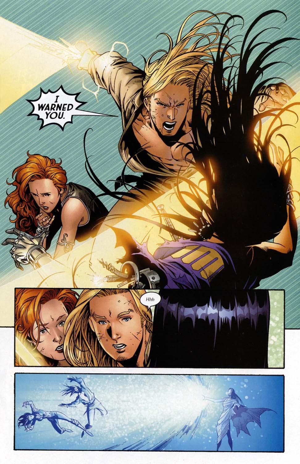 Read online Scion comic -  Issue #32 - 21