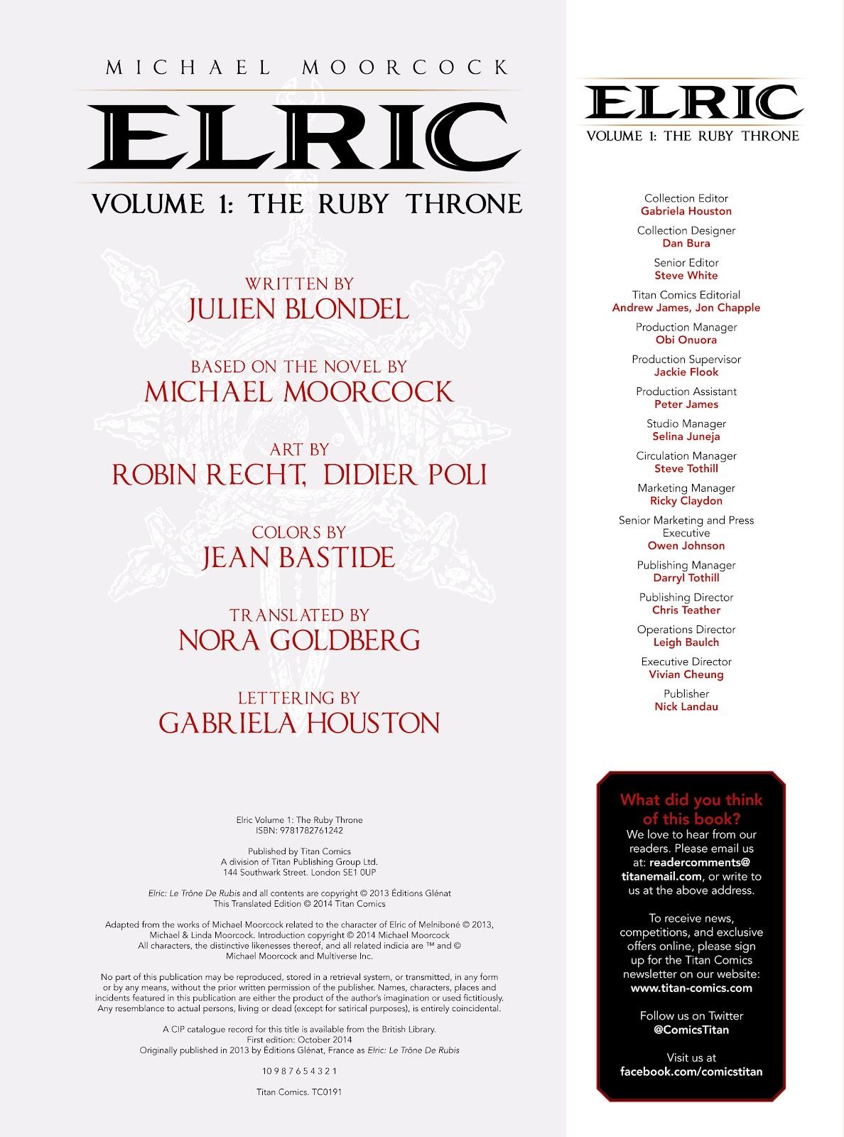 Elric (2014) TPB 1 #1 - English 4
