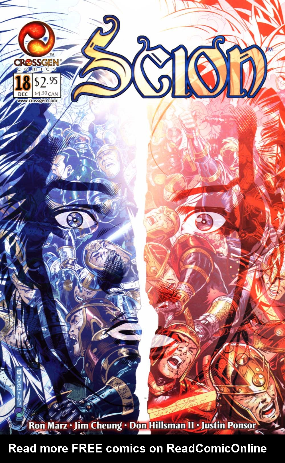 Read online Scion comic -  Issue #18 - 1