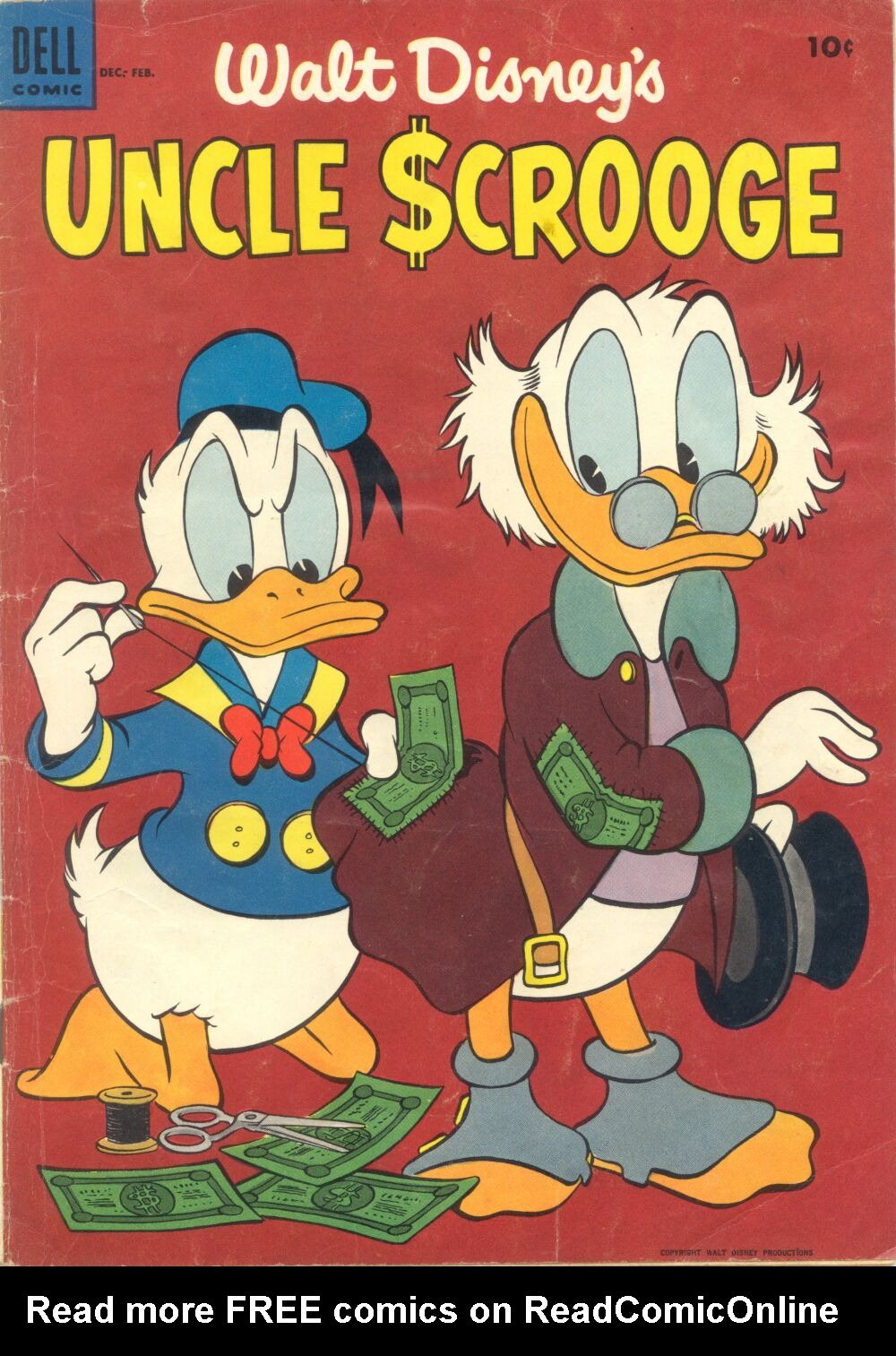 Uncle Scrooge (1953) Issue #4 #4 - English 1