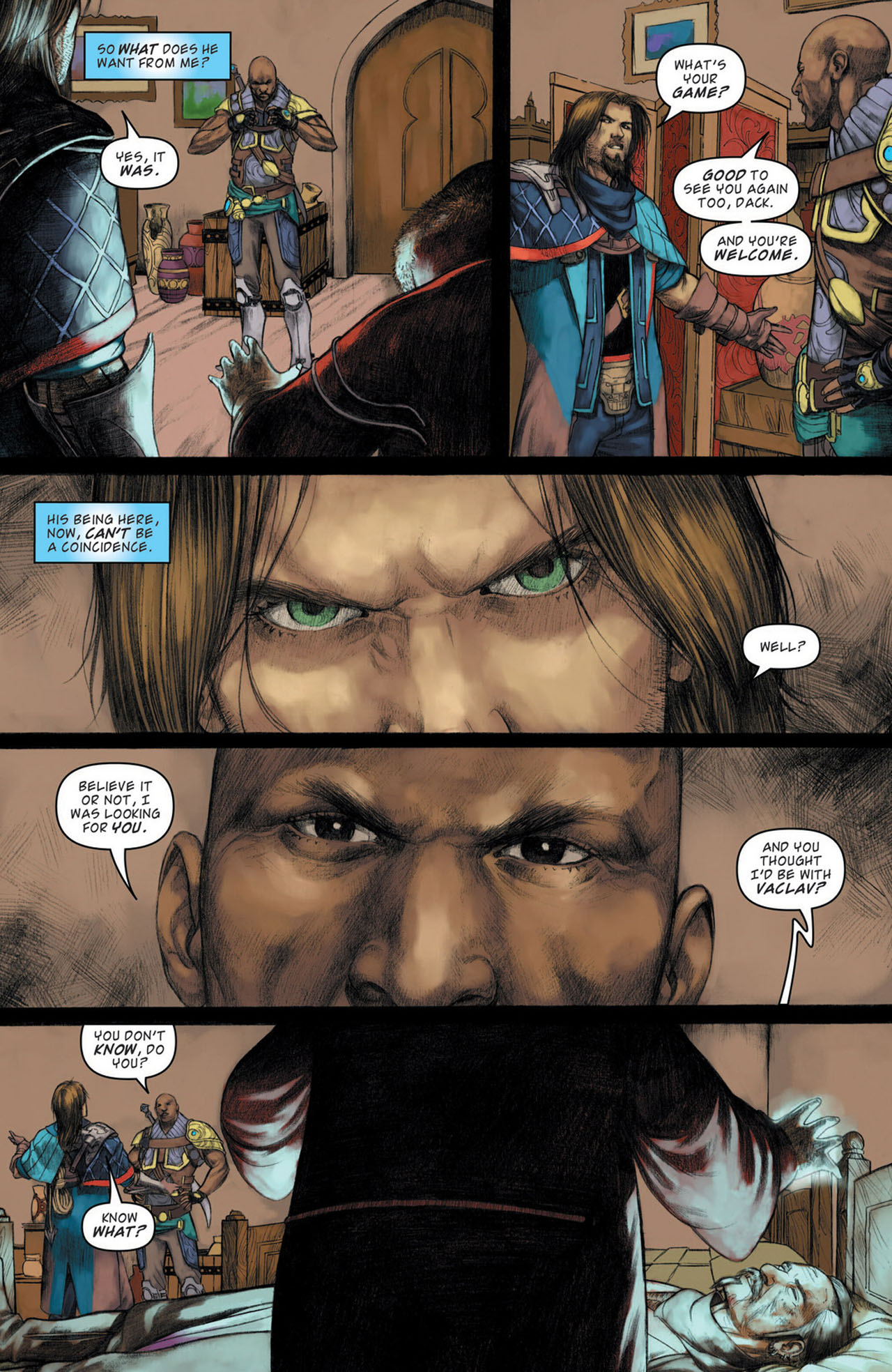 Read online Magic: The Gathering--Path of Vengeance comic -  Issue #1 - 7