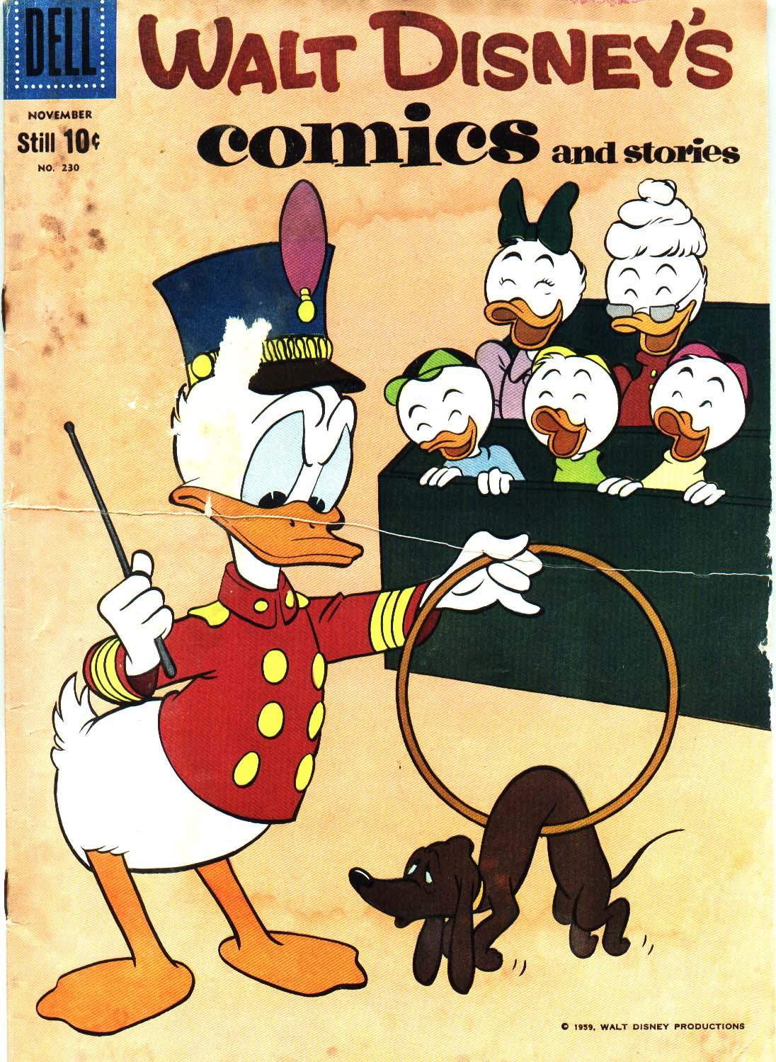 Walt Disneys Comics and Stories 230 Page 1