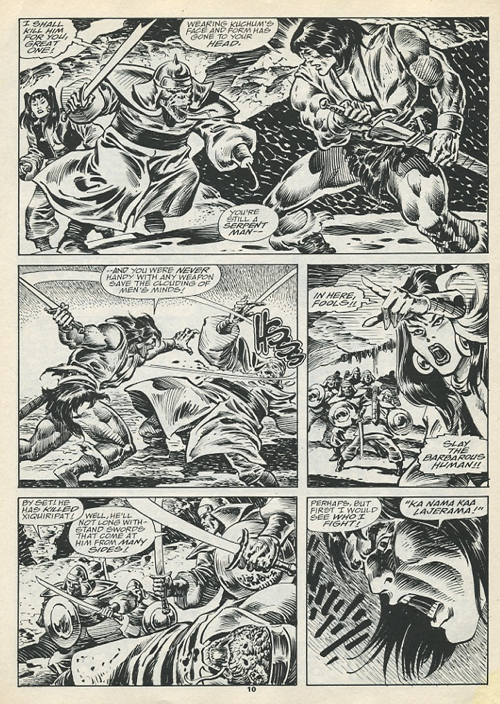 The Savage Sword Of Conan Issue #193 #194 - English 12
