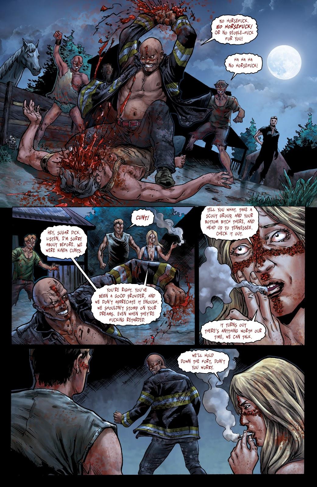 Crossed: Badlands Issue #100 #103 - English 10