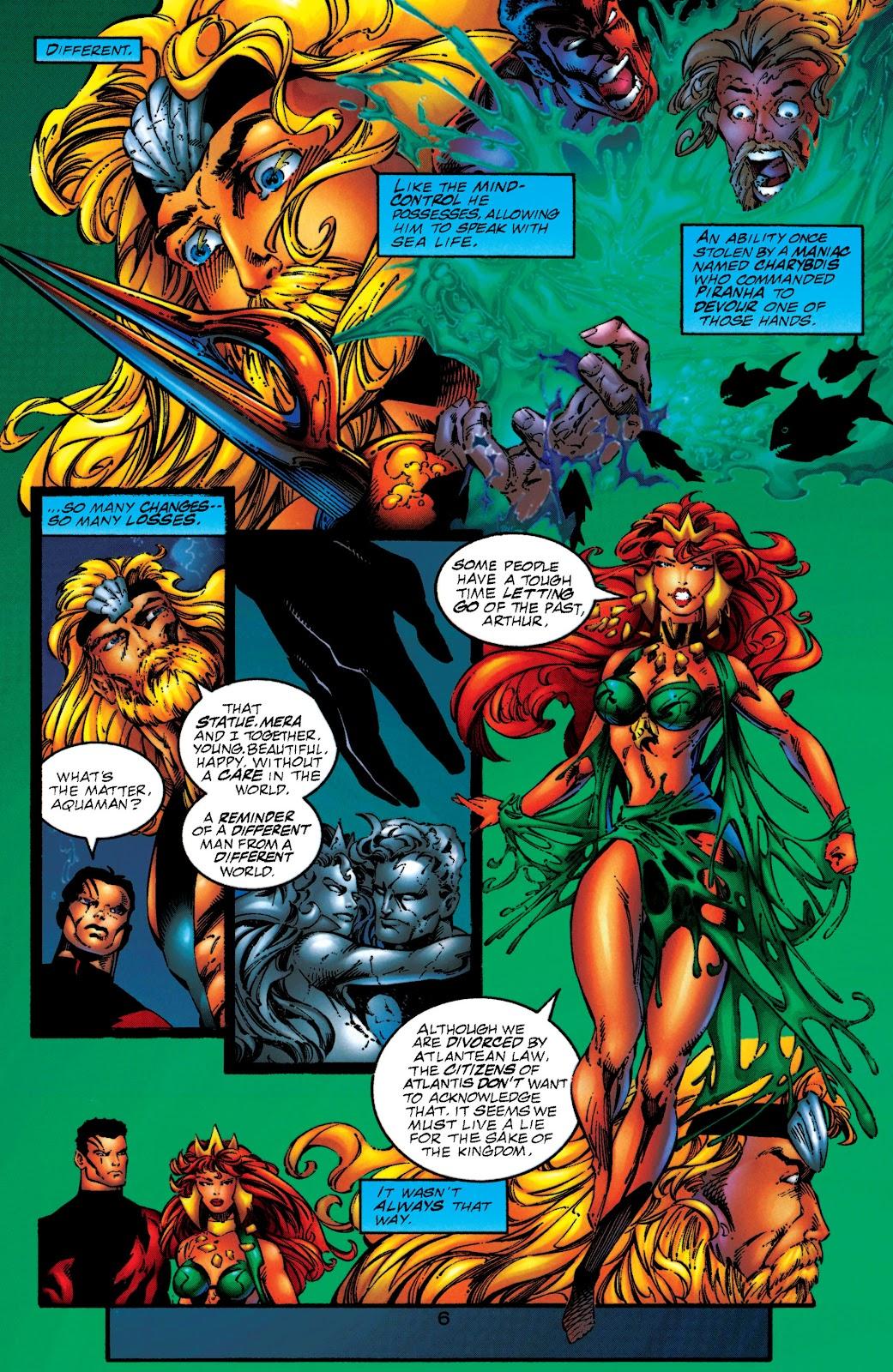 Aquaman (1994) Issue #50 #56 - English 6