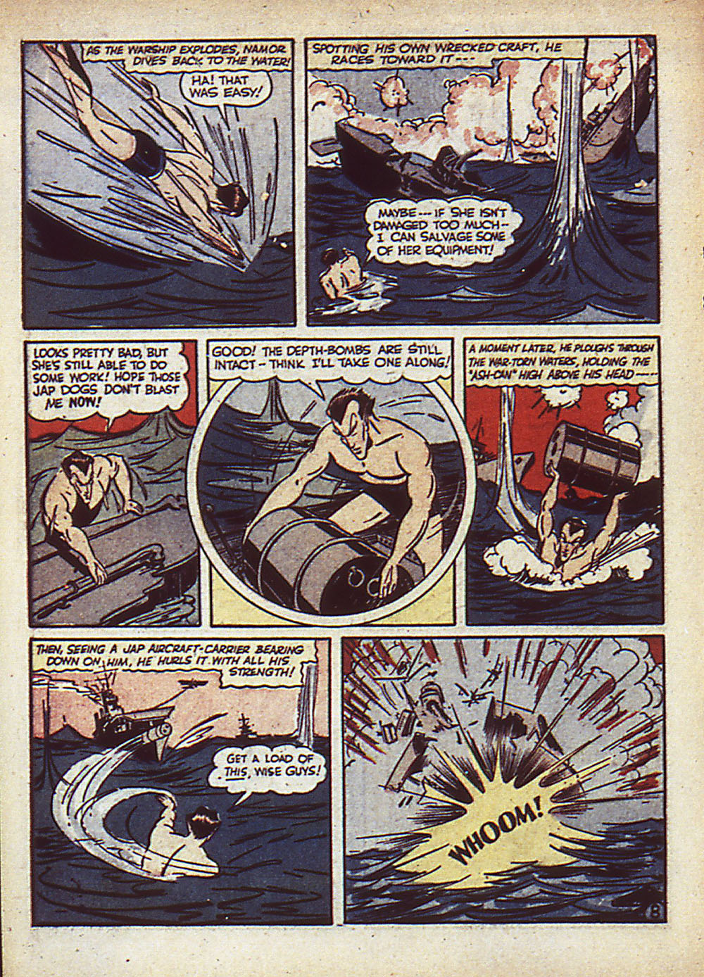 Sub-Mariner Comics Issue #5 #5 - English 11