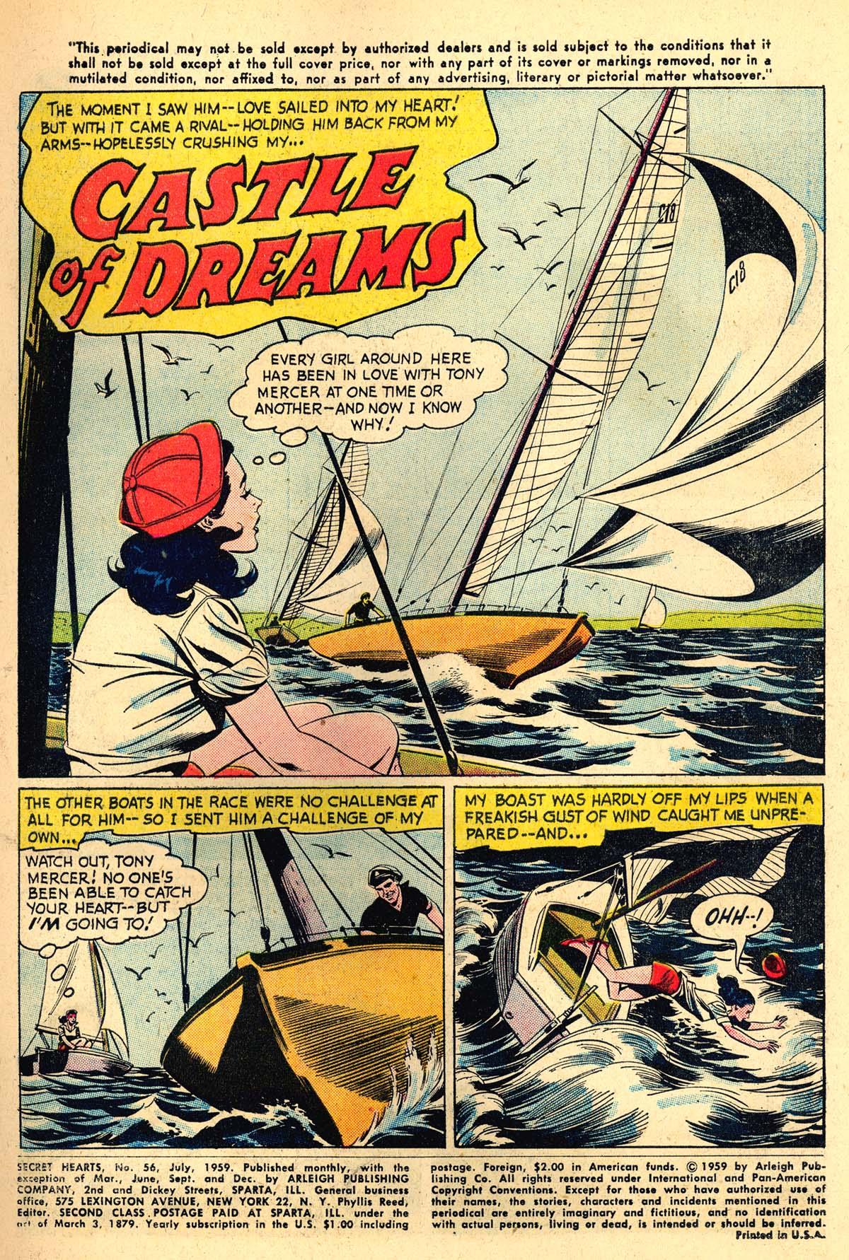 Read online Secret Hearts comic -  Issue #56 - 3