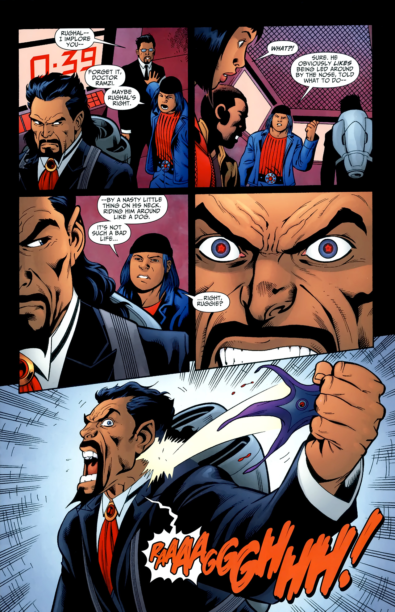 Read online Justice League of America/The 99 comic -  Issue #6 - 11