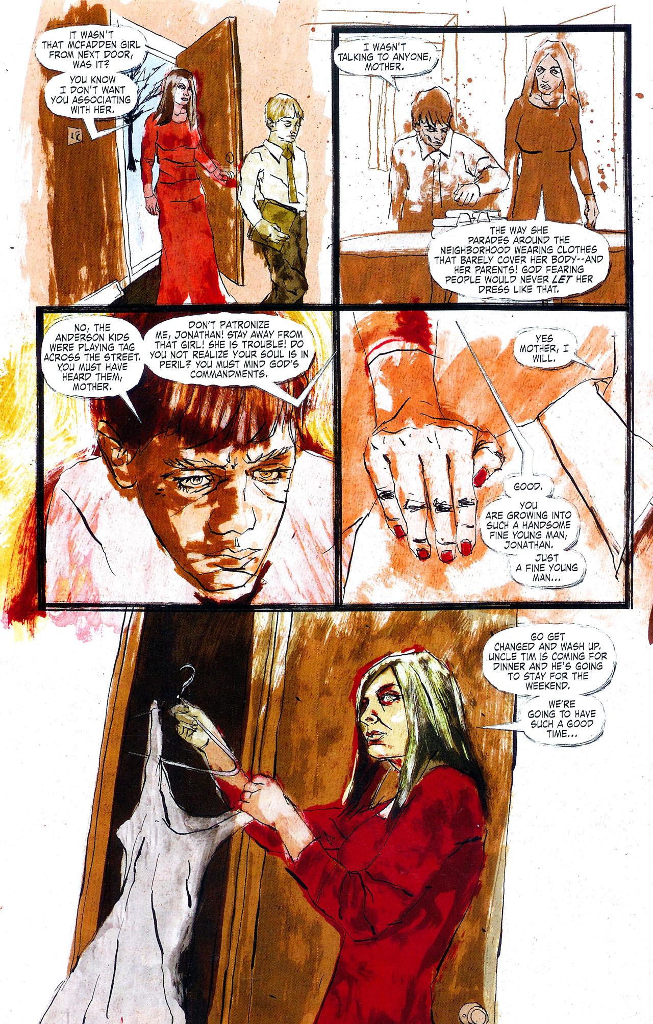 Read online Se7en comic -  Issue #4 - 10