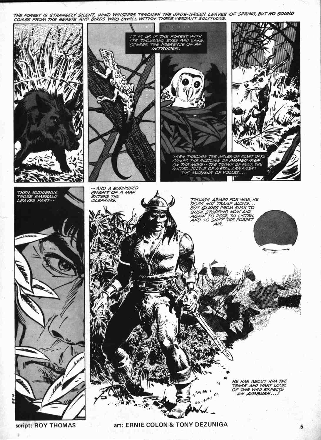 The Savage Sword Of Conan Issue #46 #47 - English 4