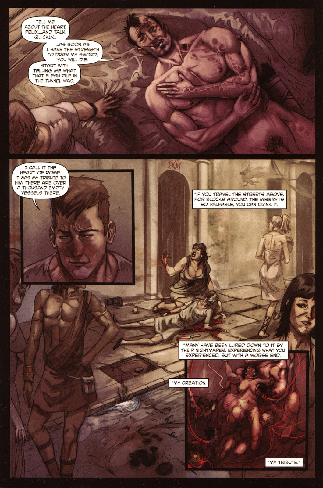 Caligula: Heart of Rome Issue #5 #5 - English 5