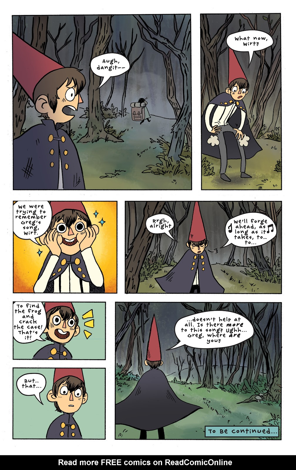 Over the Garden Wall (2016) Issue #7 #7 - English 24