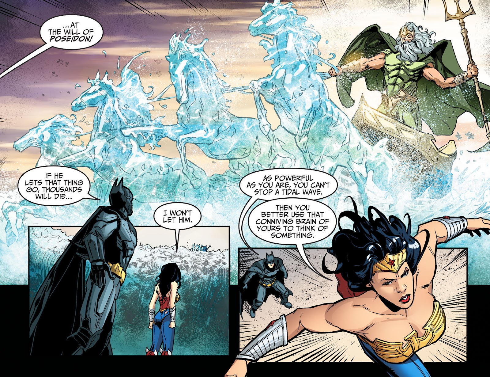 Injustice: Gods Among Us Year Four Issue #17 #18 - English 11