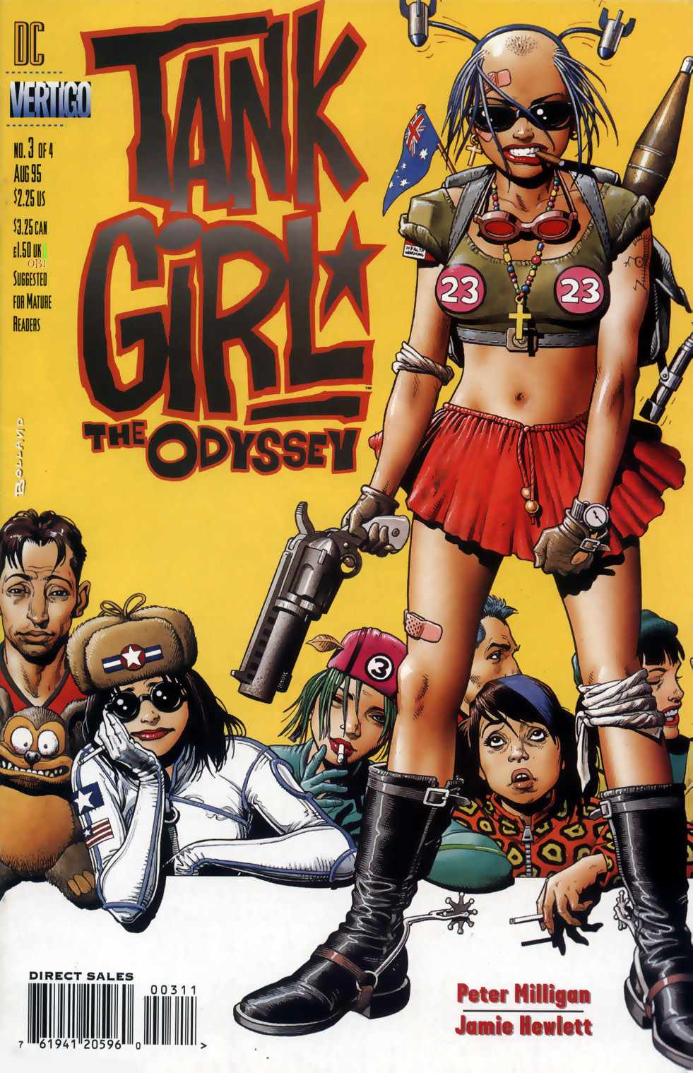 Tank Girl: The Odyssey 3 Page 1