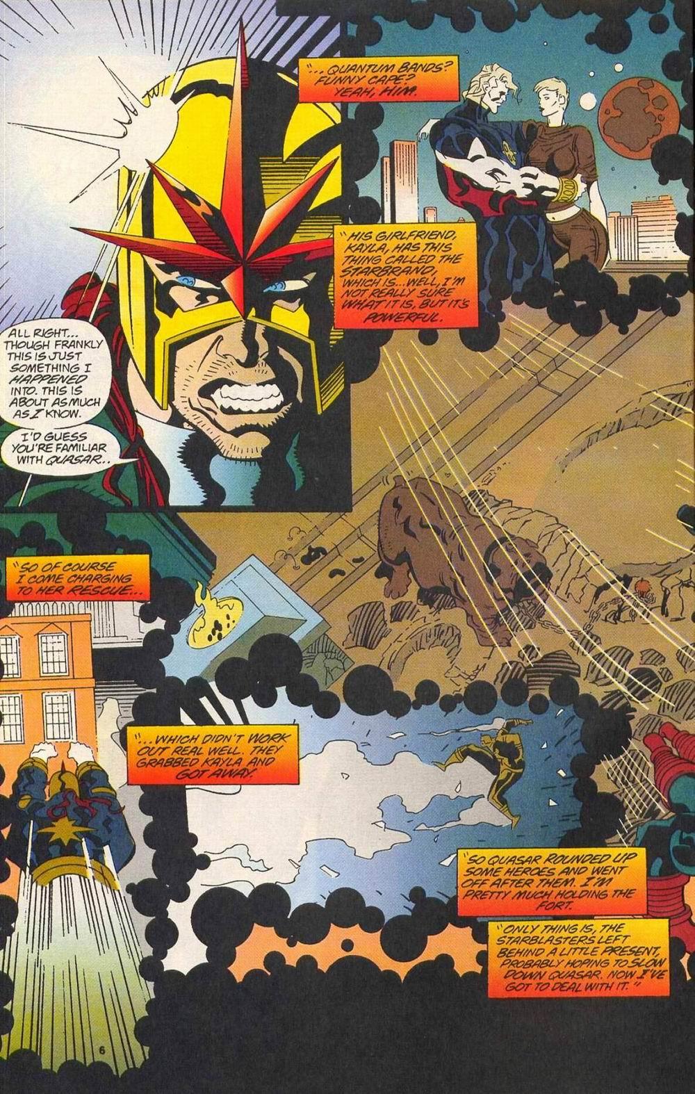 Read online Secret Defenders comic -  Issue #11 - 6