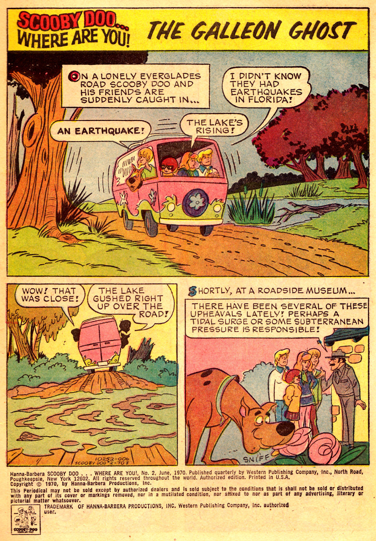 Read online Scooby-Doo... Where Are You! (1970) comic -  Issue #2 - 2