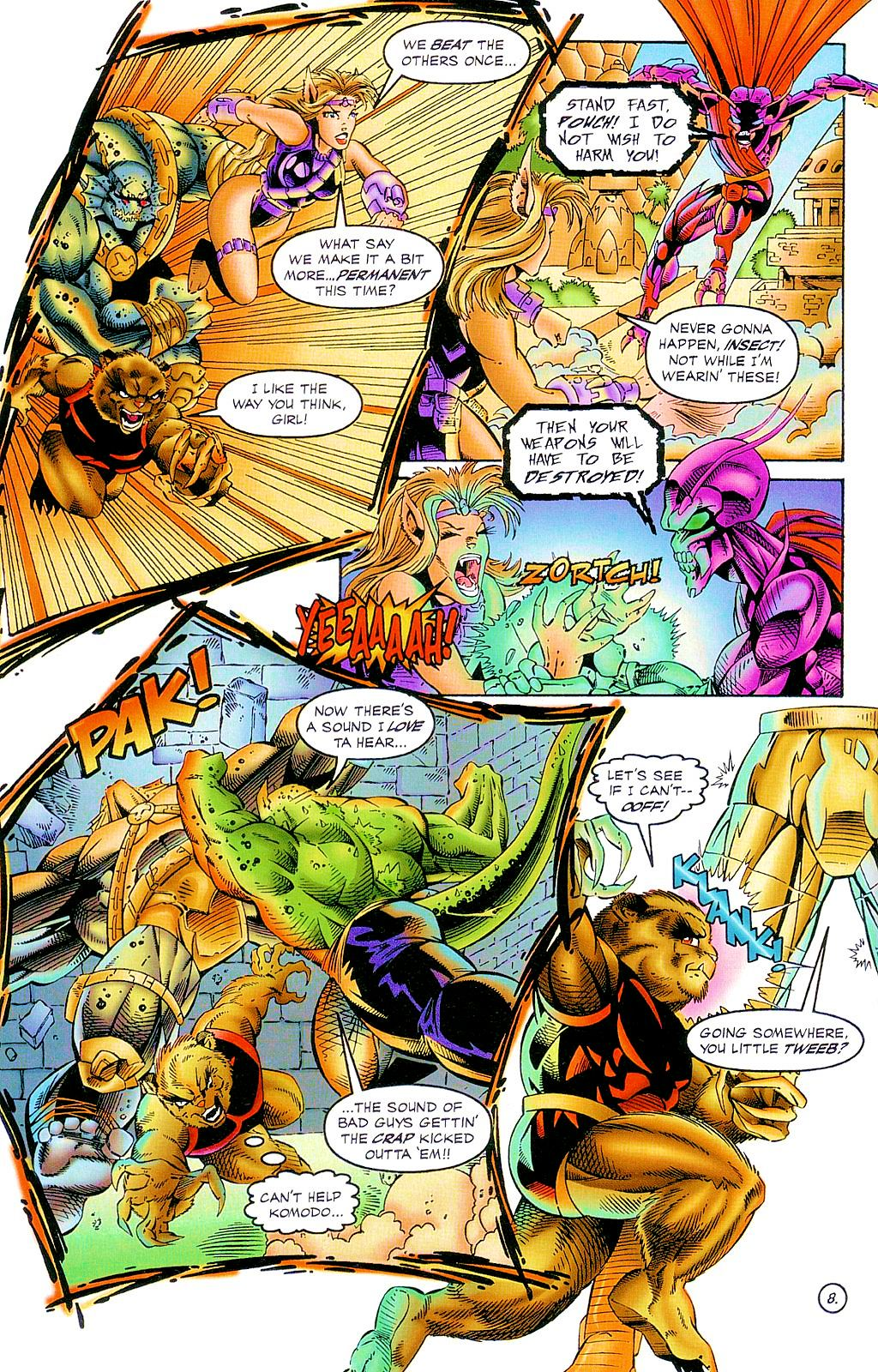 Read online The Others comic -  Issue #2 - 9