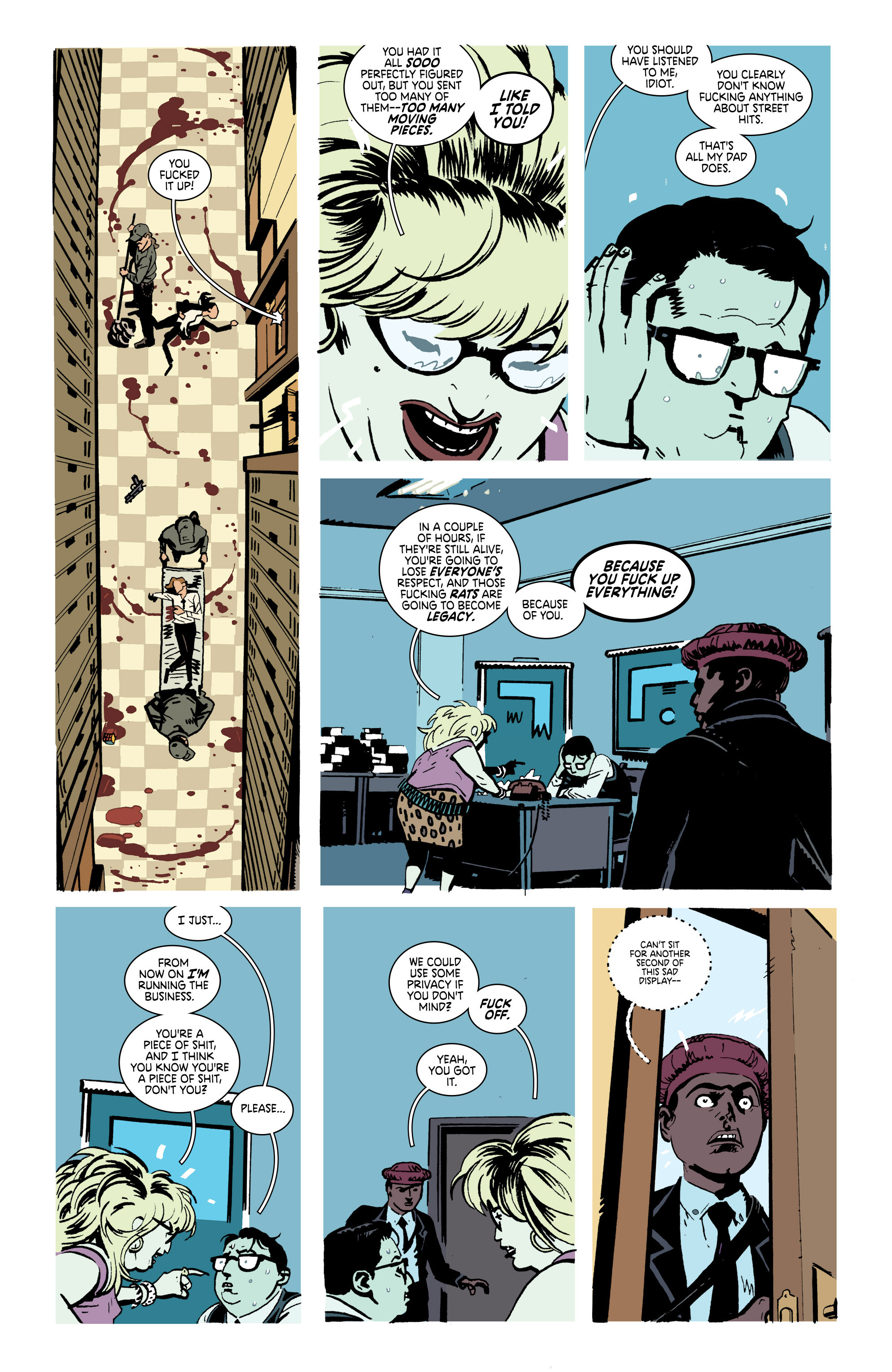 Read online Deadly Class comic -  Issue #21 - 12