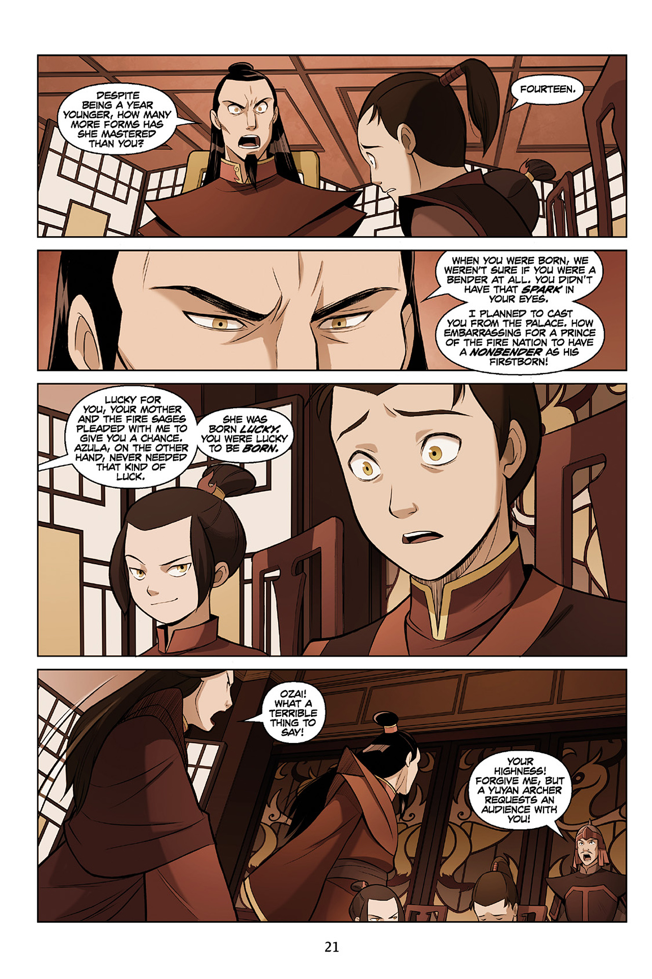 Read online Nickelodeon Avatar: The Last Airbender - The Search comic -  Issue # Part 2 - 22
