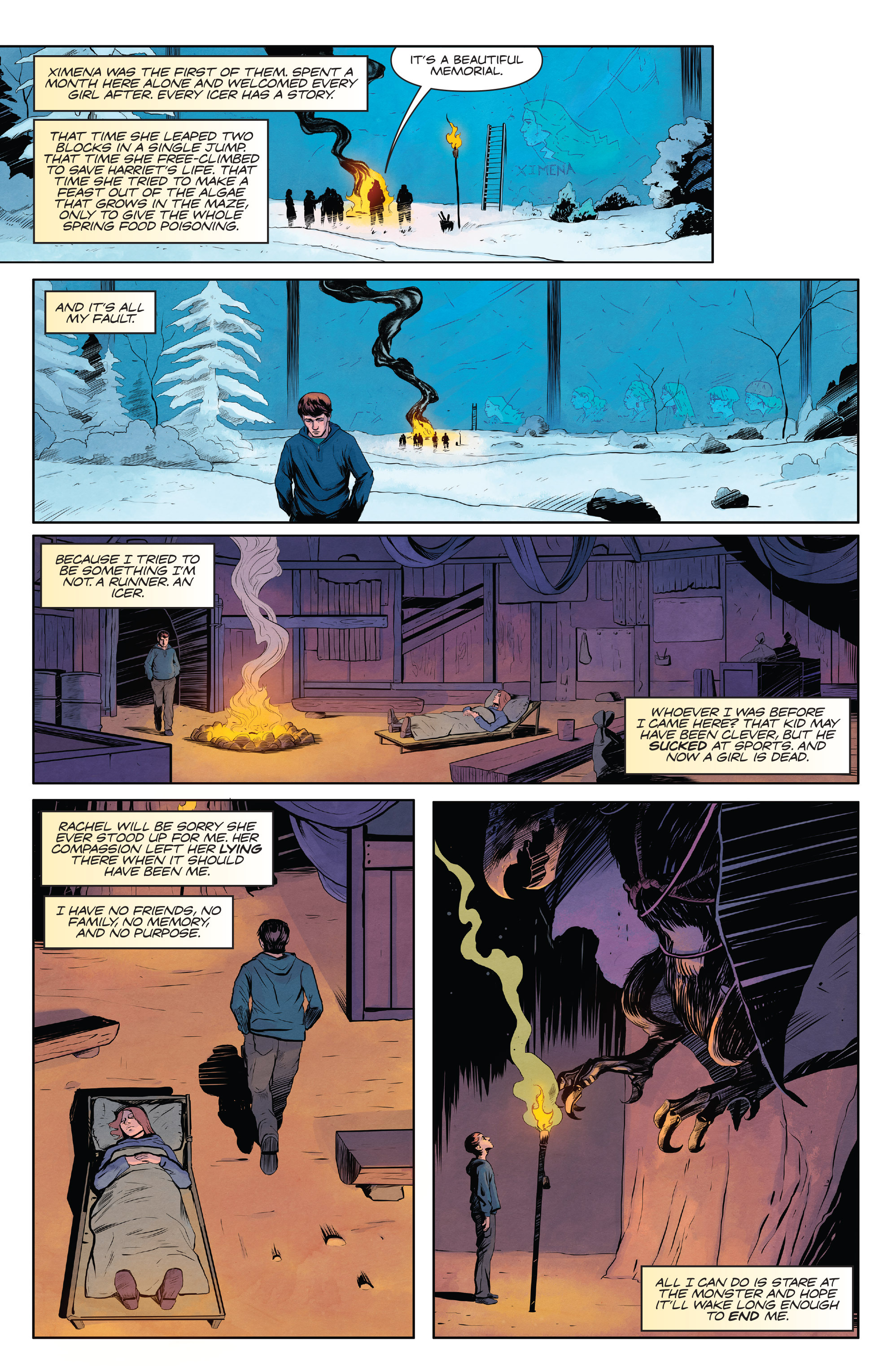 Maze runner the scorch trials official graphic novel prelude read maze runner the scorch trials official graphic novel prelude chapter pic 39 fandeluxe Images