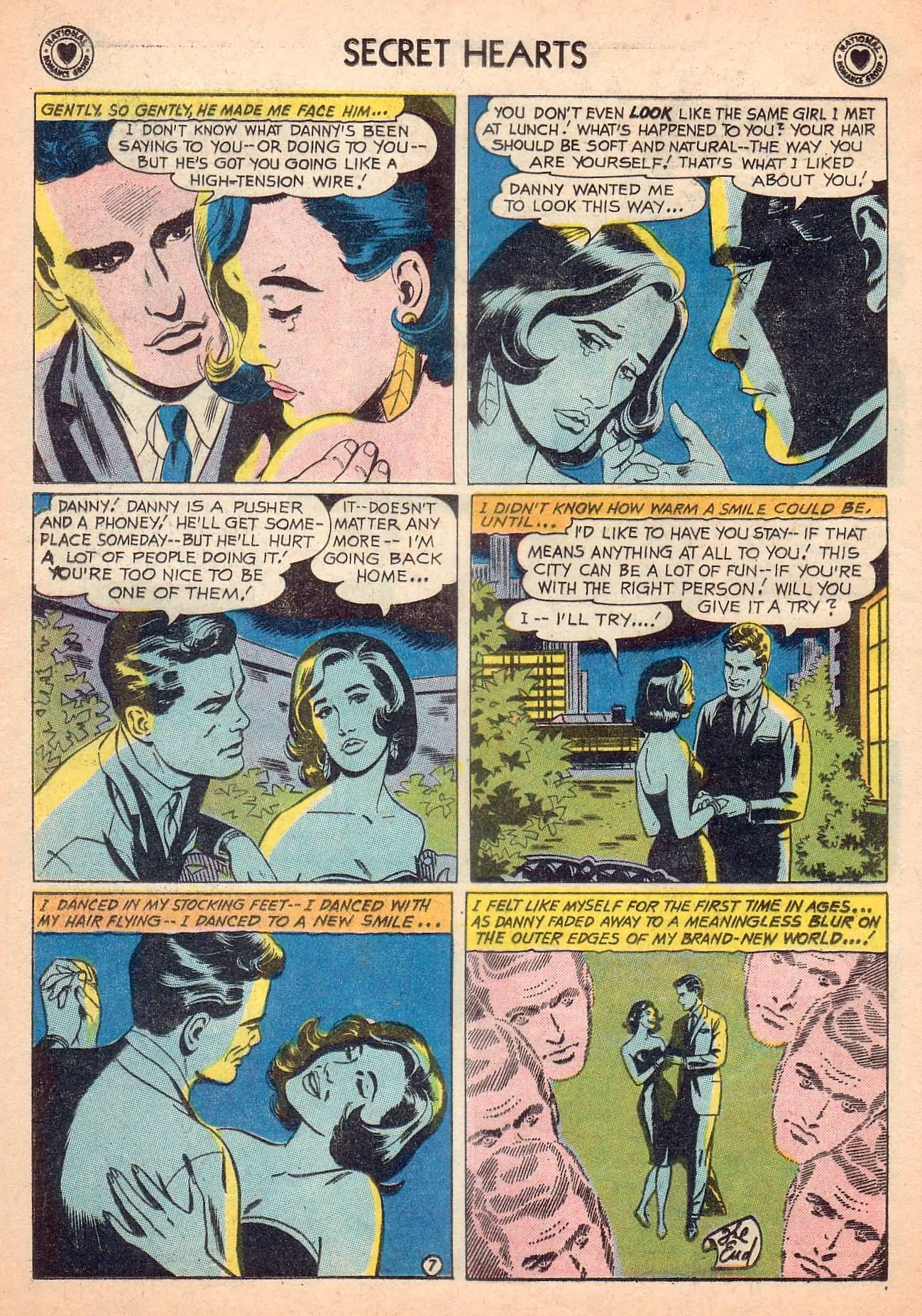 Read online Secret Hearts comic -  Issue #63 - 24