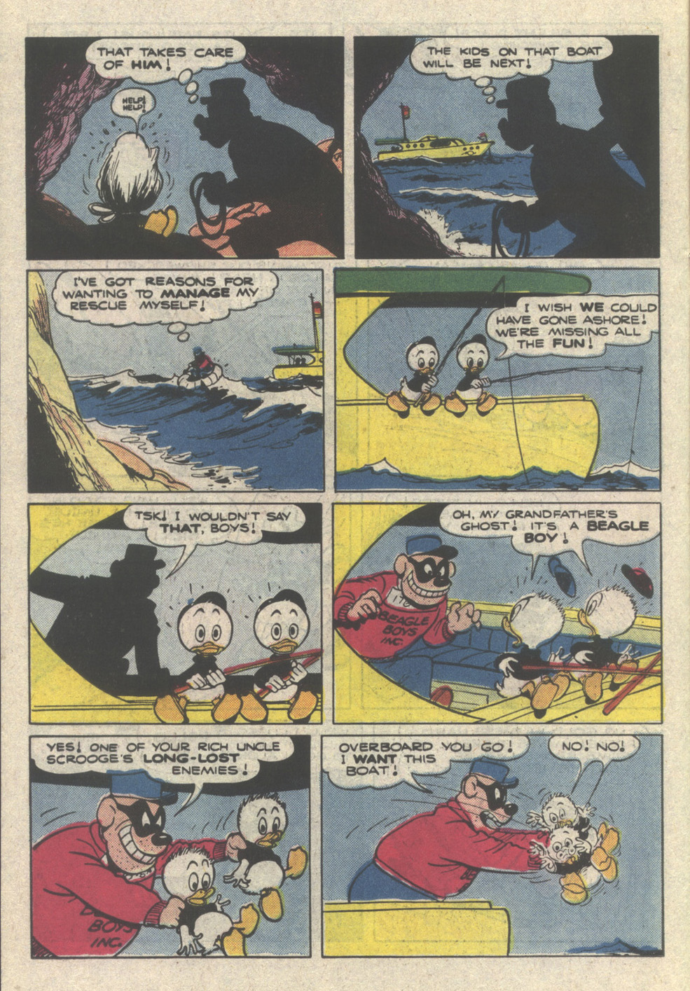 Uncle Scrooge (1953) Issue #222 #222 - English 14