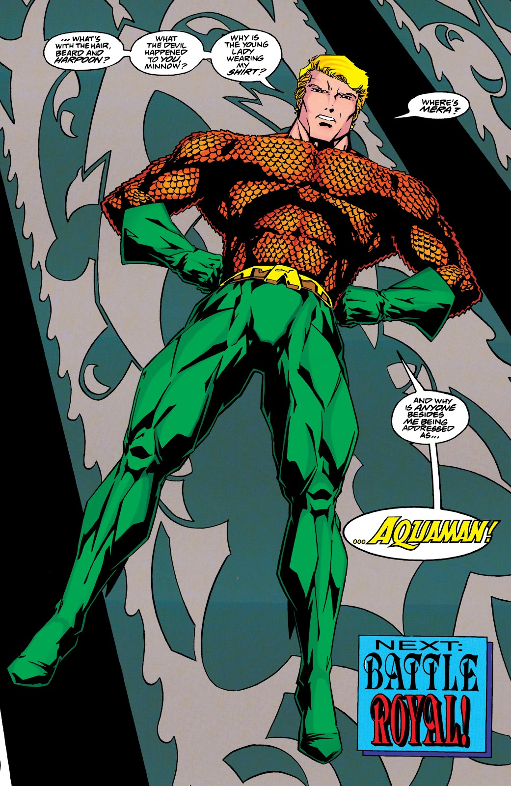 Aquaman (1994) Issue #46 #52 - English 21