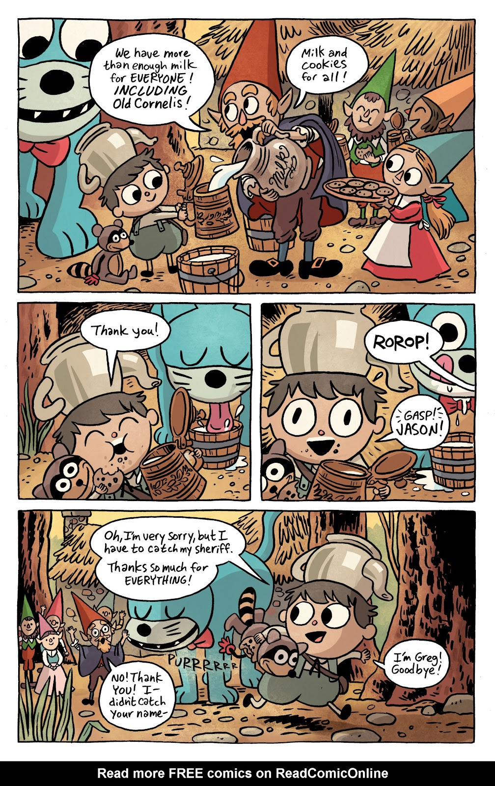 Over the Garden Wall (2016) Issue #1 #1 - English 11