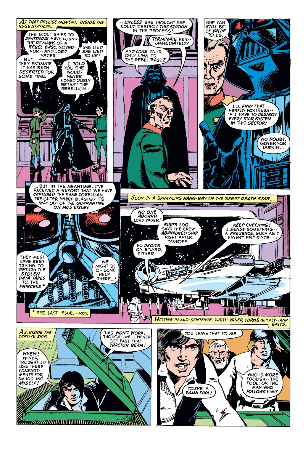 Star Wars (1977) Issue #3 #6 - English 10