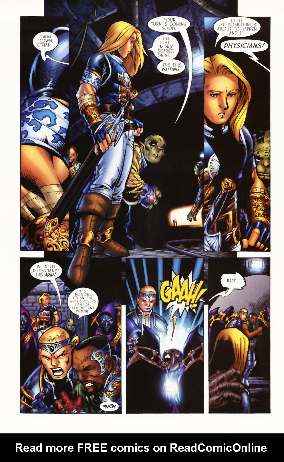 Read online Scion comic -  Issue #1 - 16