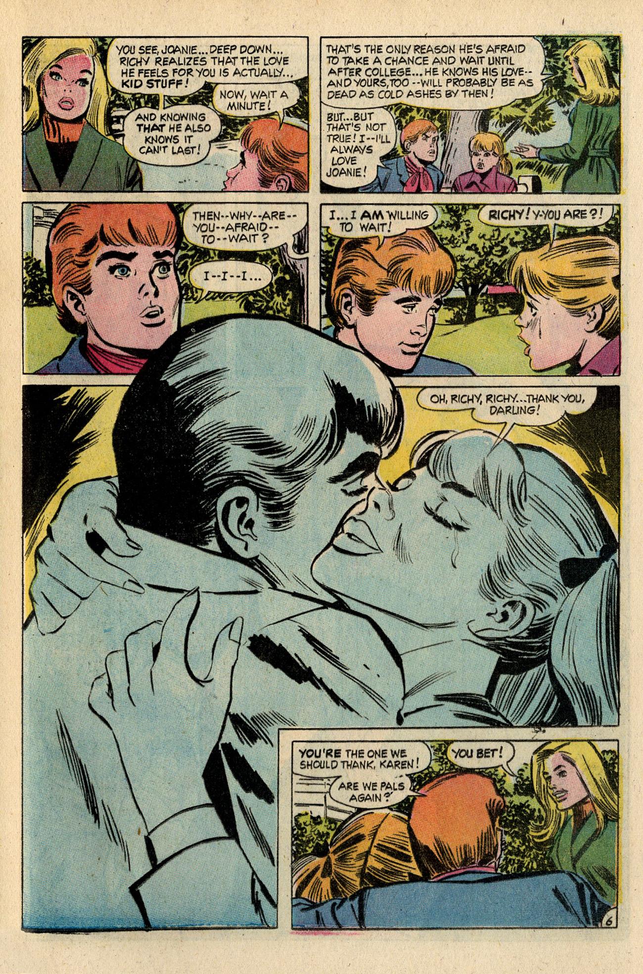 Read online Secret Hearts comic -  Issue #138 - 25