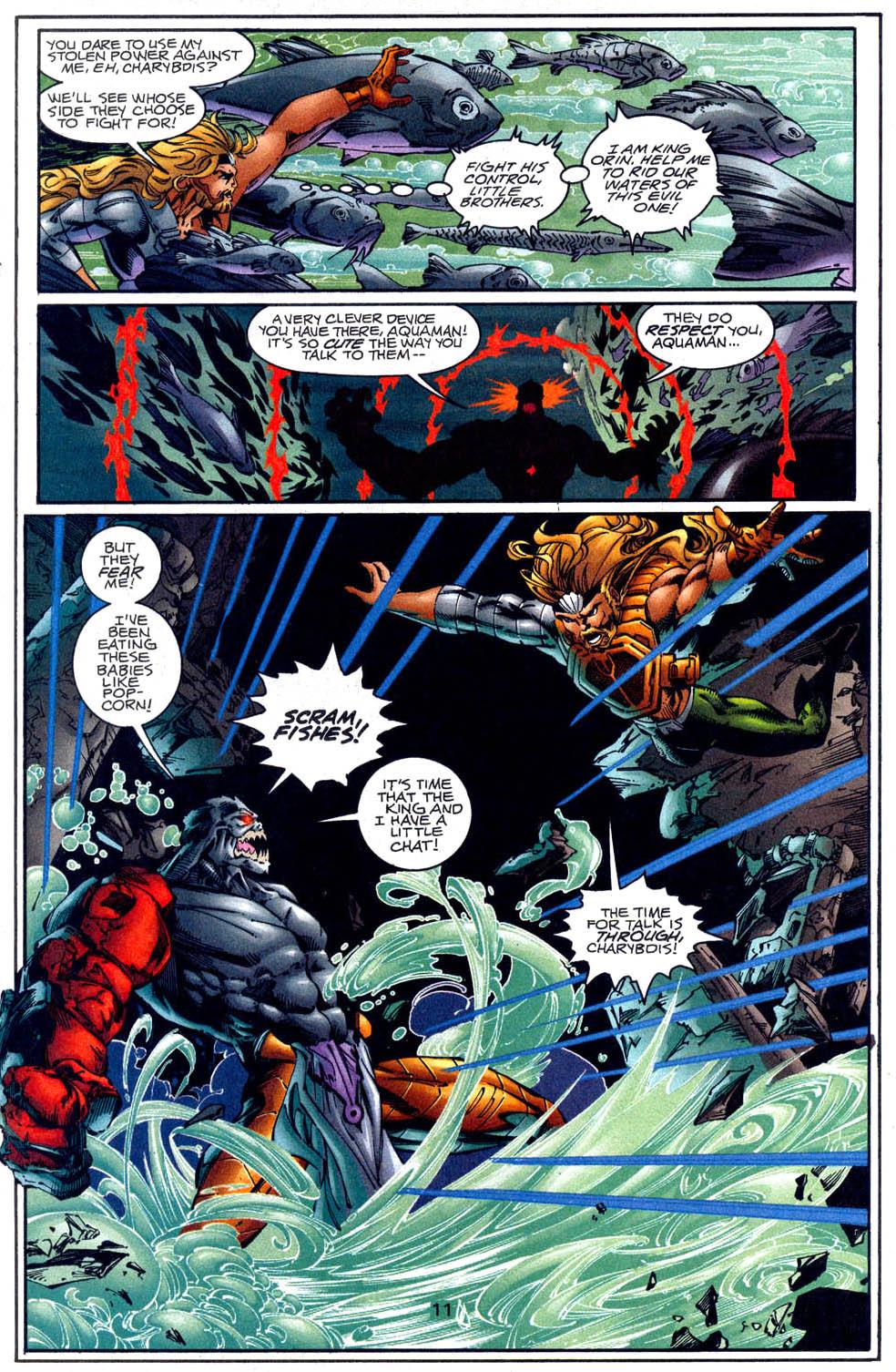 Aquaman (1994) Issue #62 #68 - English 12