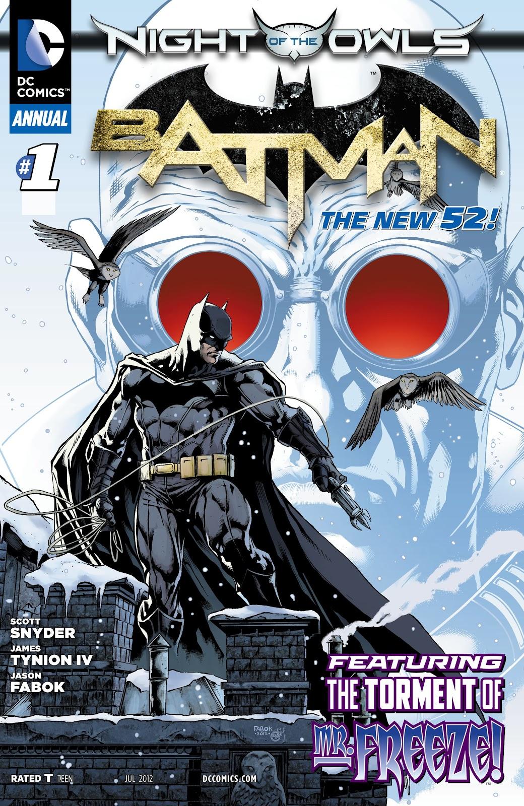 Batman (2011) Annual 1 #11 - English 1