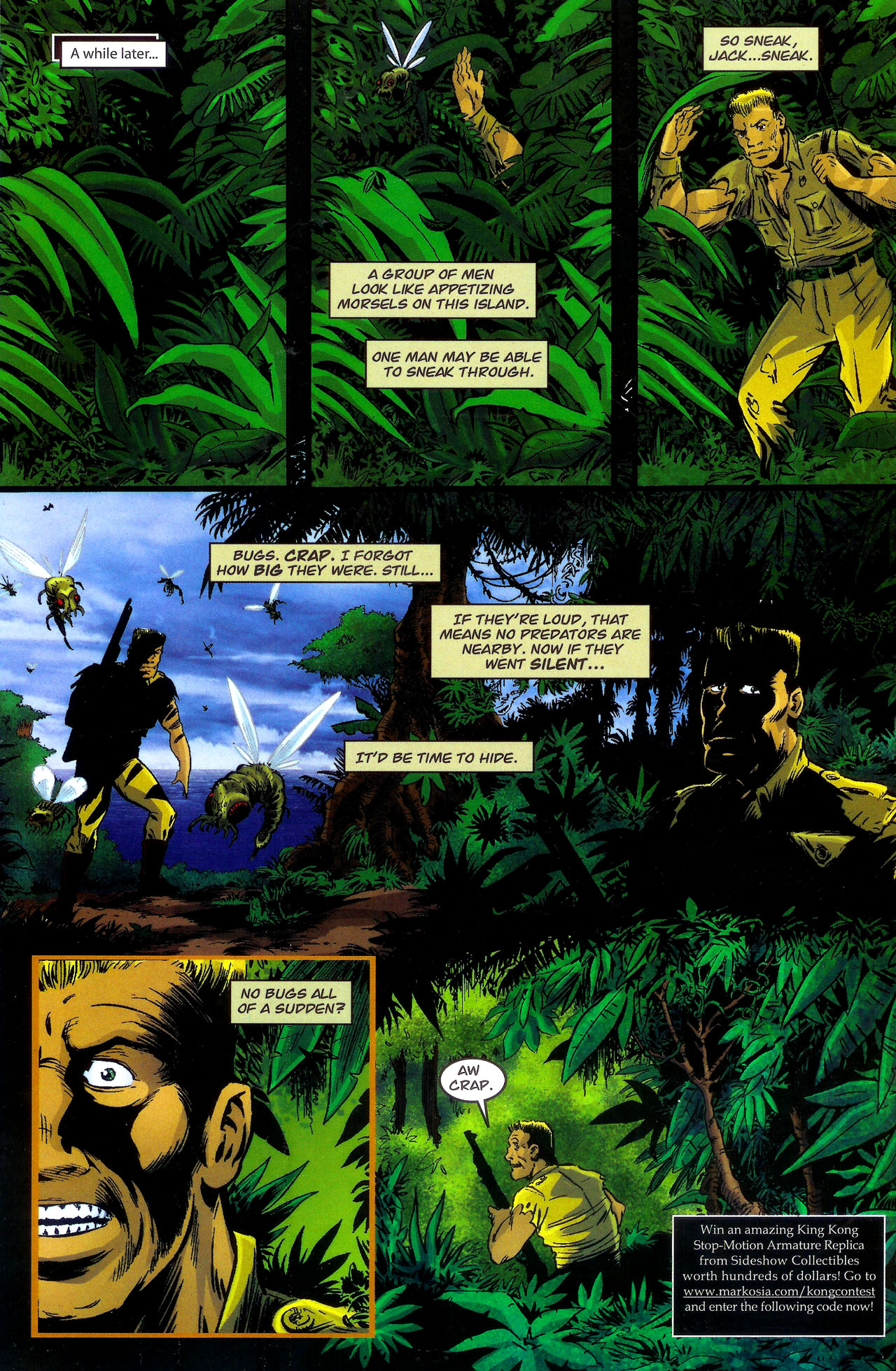 Read online Kong: King Of Skull Island comic -  Issue #1 - 18