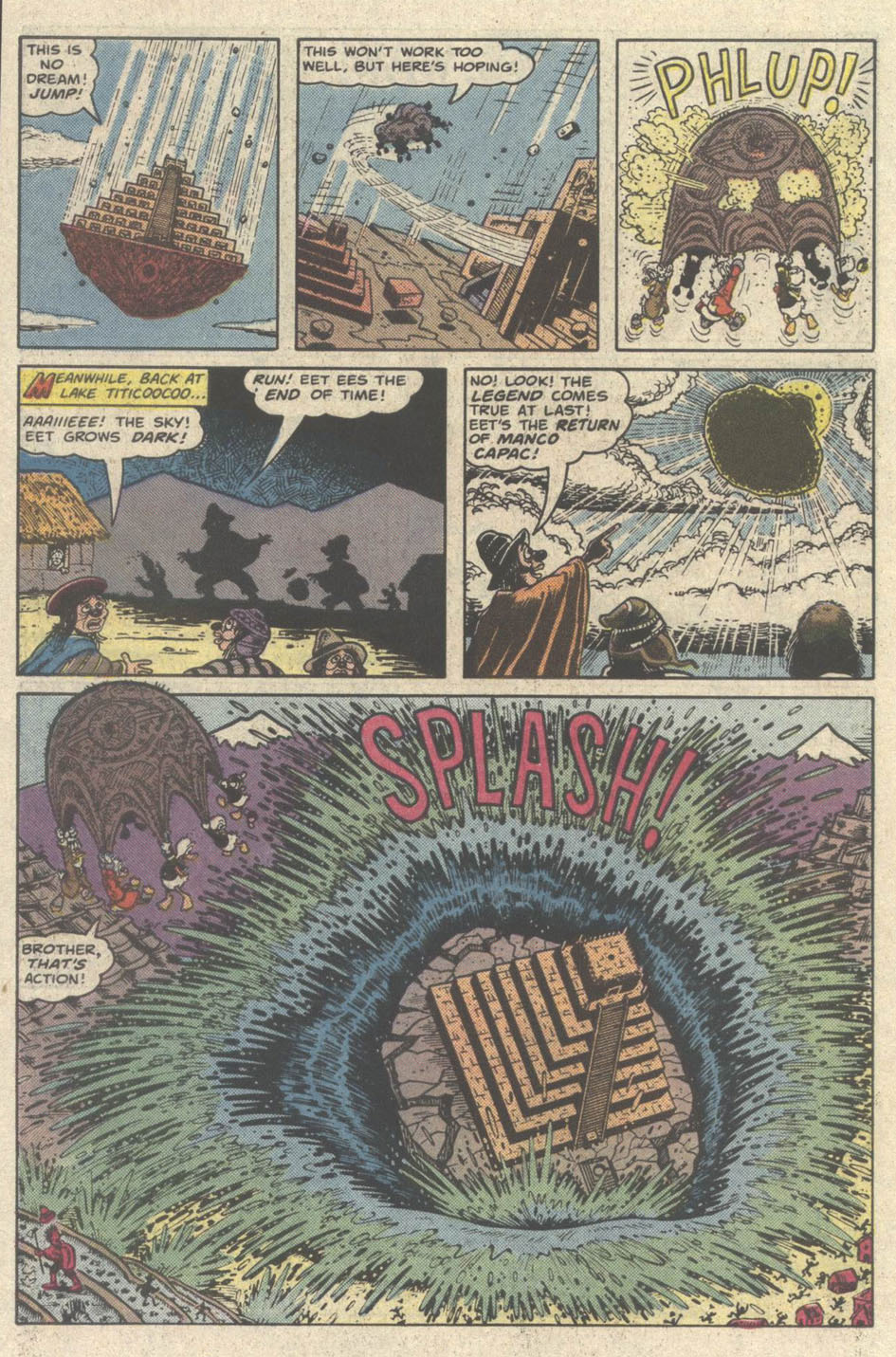 Uncle Scrooge (1953) Issue #219 #219 - English 30