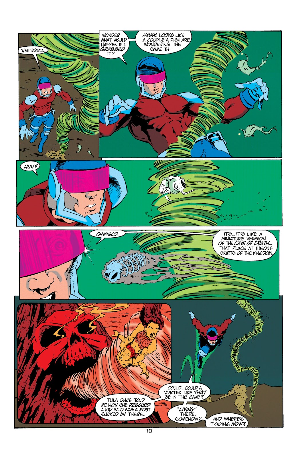 Aquaman (1994) Issue #6 #12 - English 11