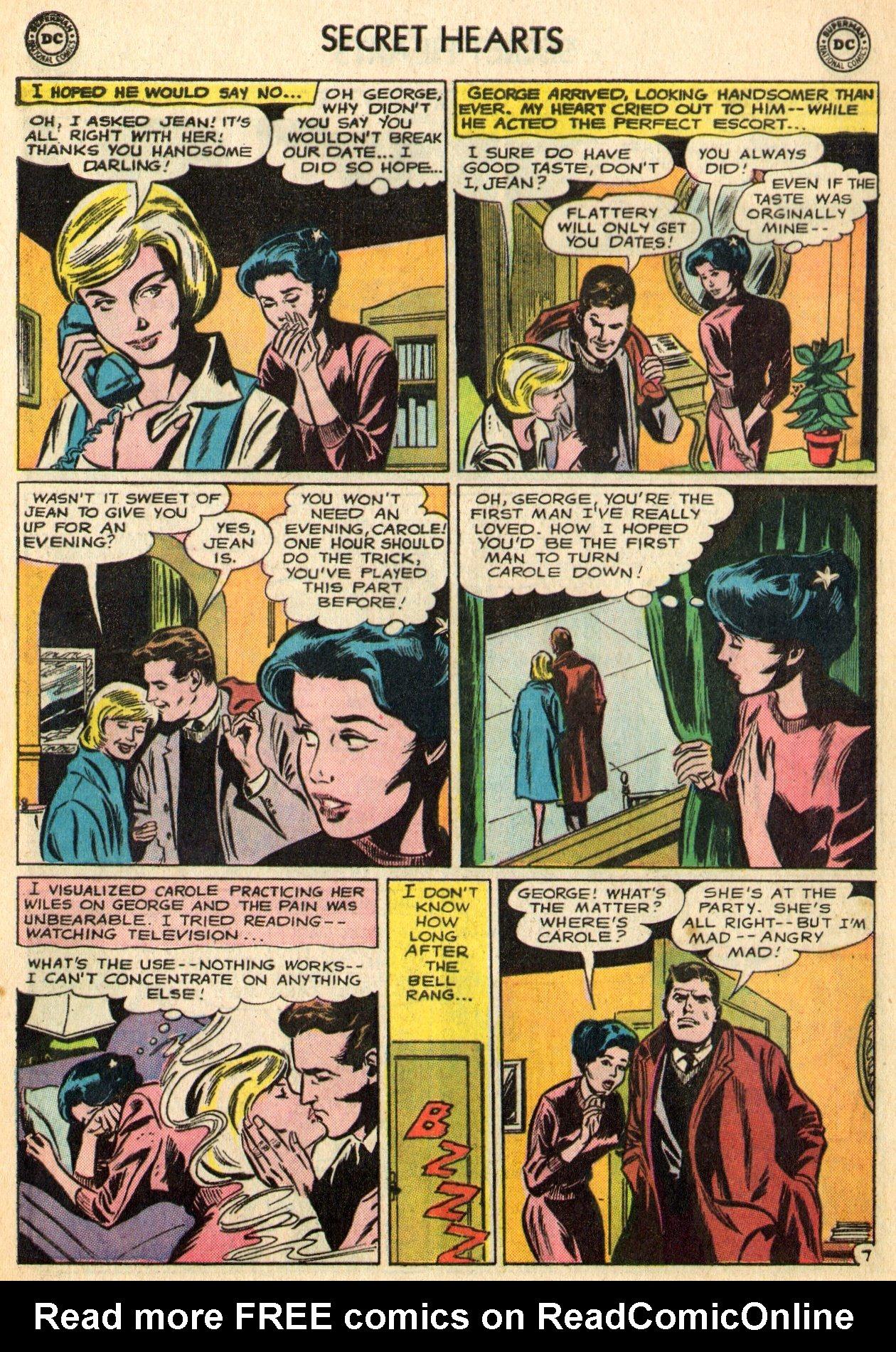 Read online Secret Hearts comic -  Issue #96 - 20