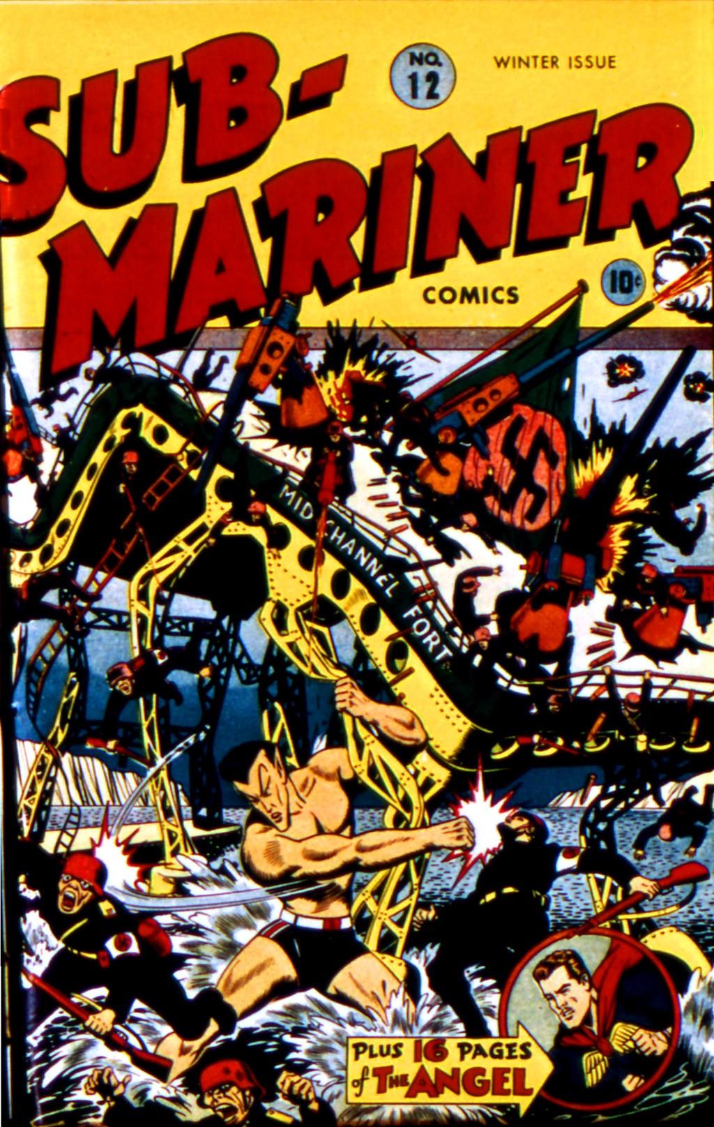 Sub-Mariner Comics 12 Page 1