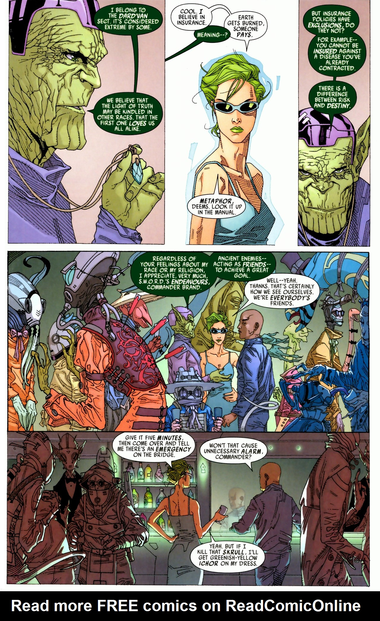 Read online Secret Invasion: Who Do You Trust? comic -  Issue # Full - 17