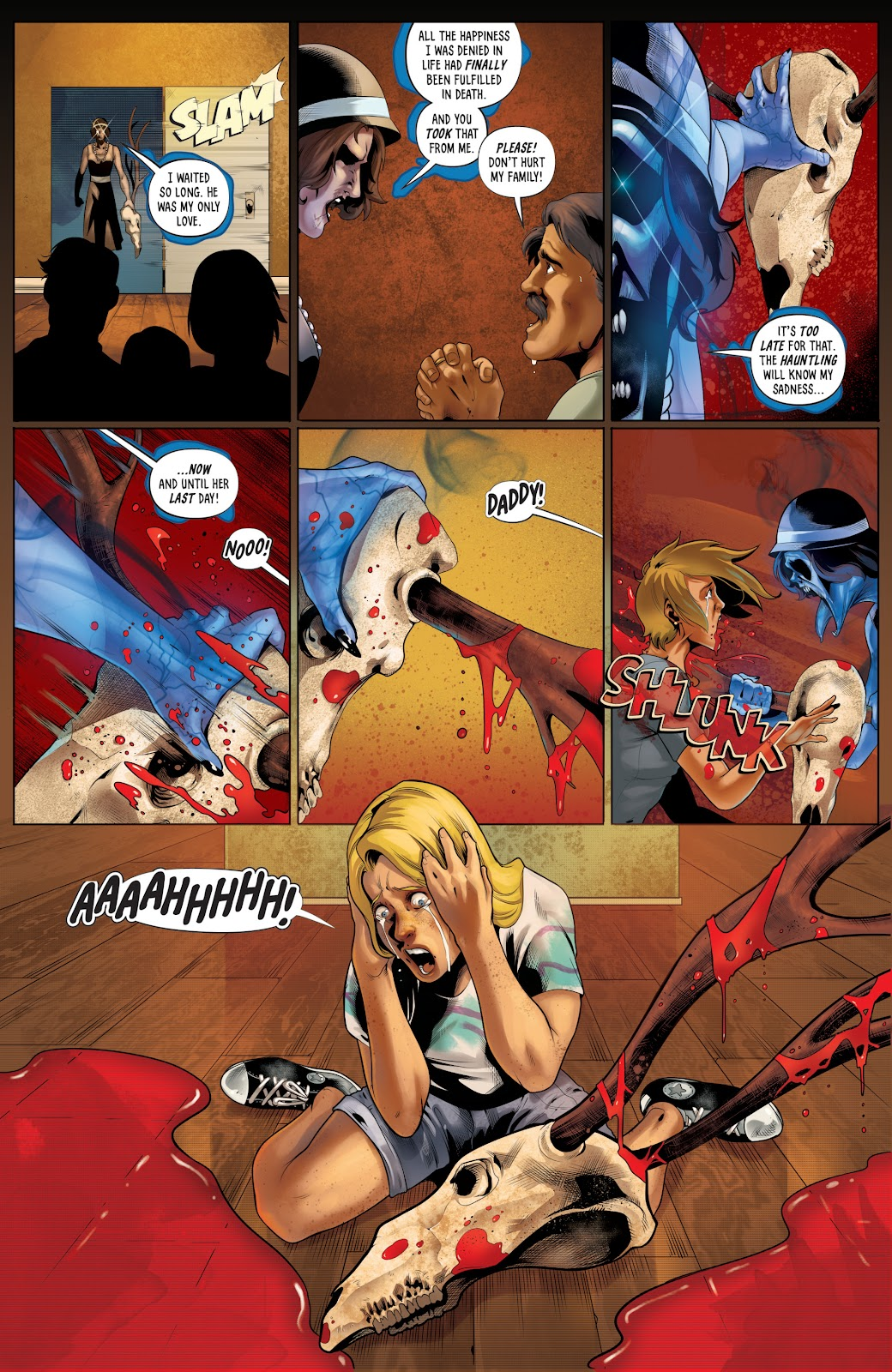 Grimm Fairy Tales (2005) _Special - Halloween Special #2 - English 10