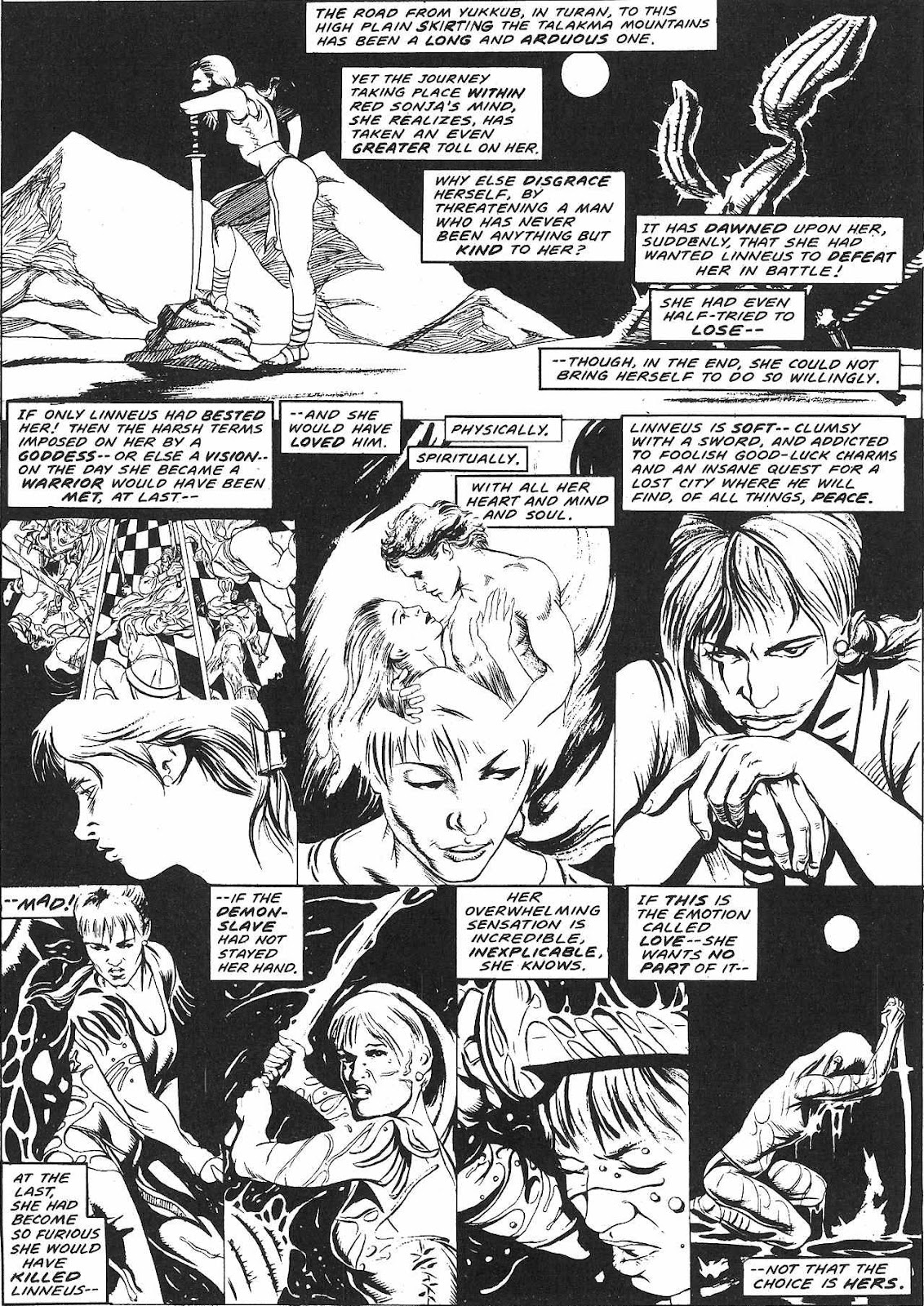 The Savage Sword Of Conan Issue #209 #210 - English 58