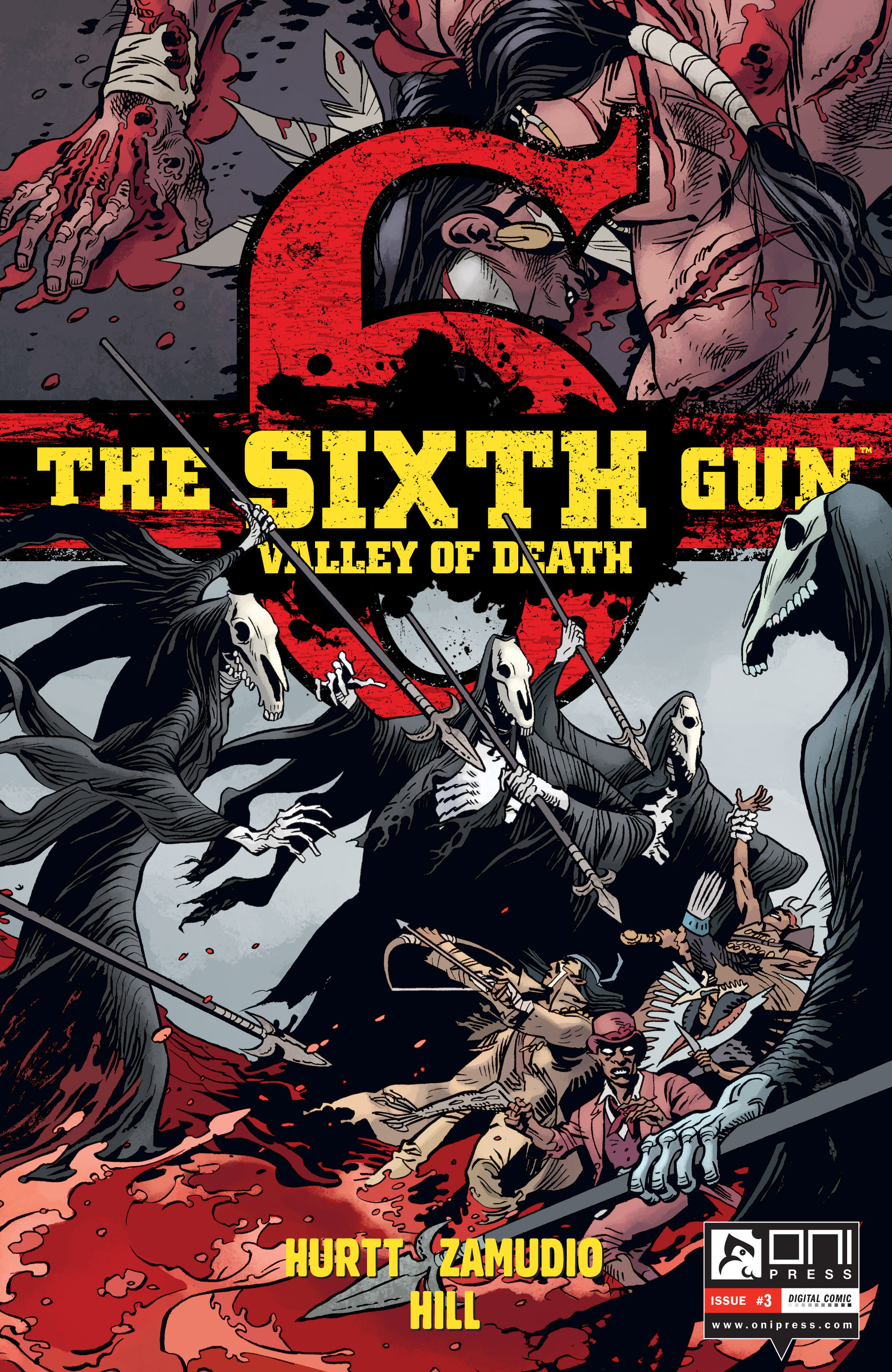 The Sixth Gun: Valley of Death  issue 3 - Page 1