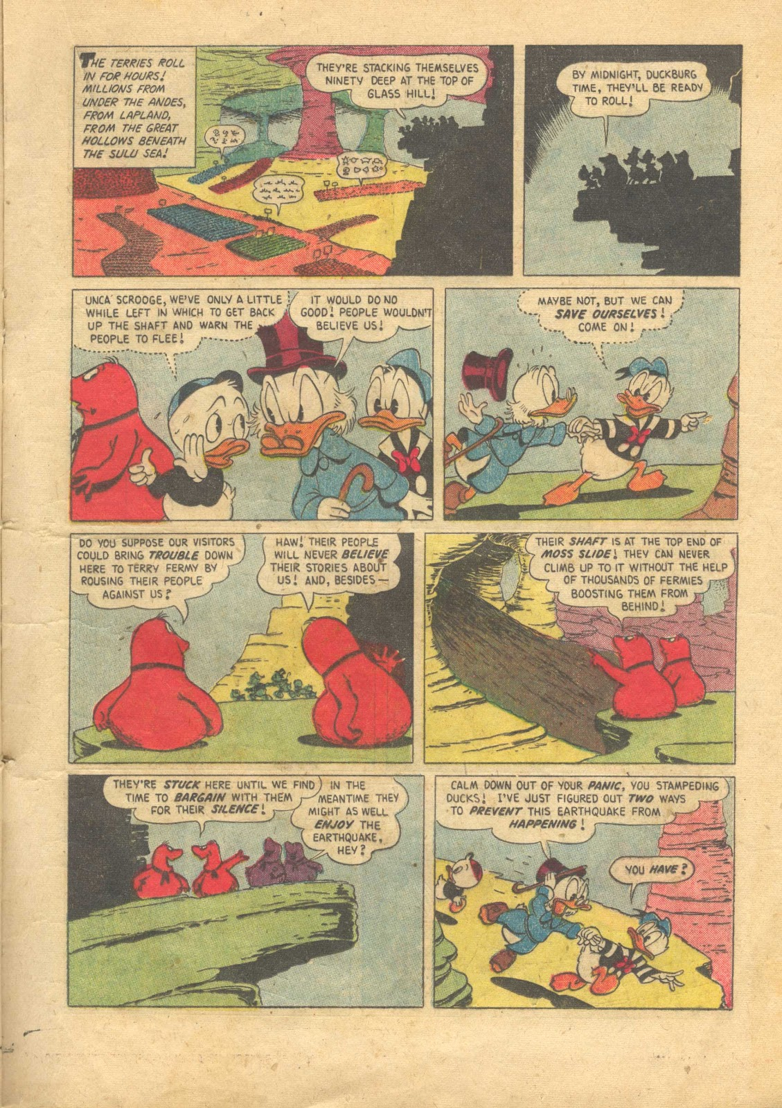 Uncle Scrooge (1953) Issue #13 #13 - English 17