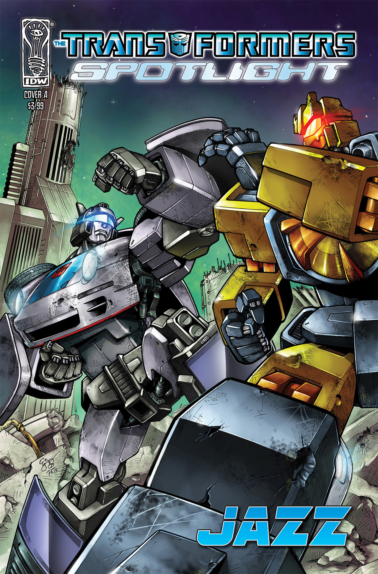 Transformers Spotlight: Jazz Full Page 1