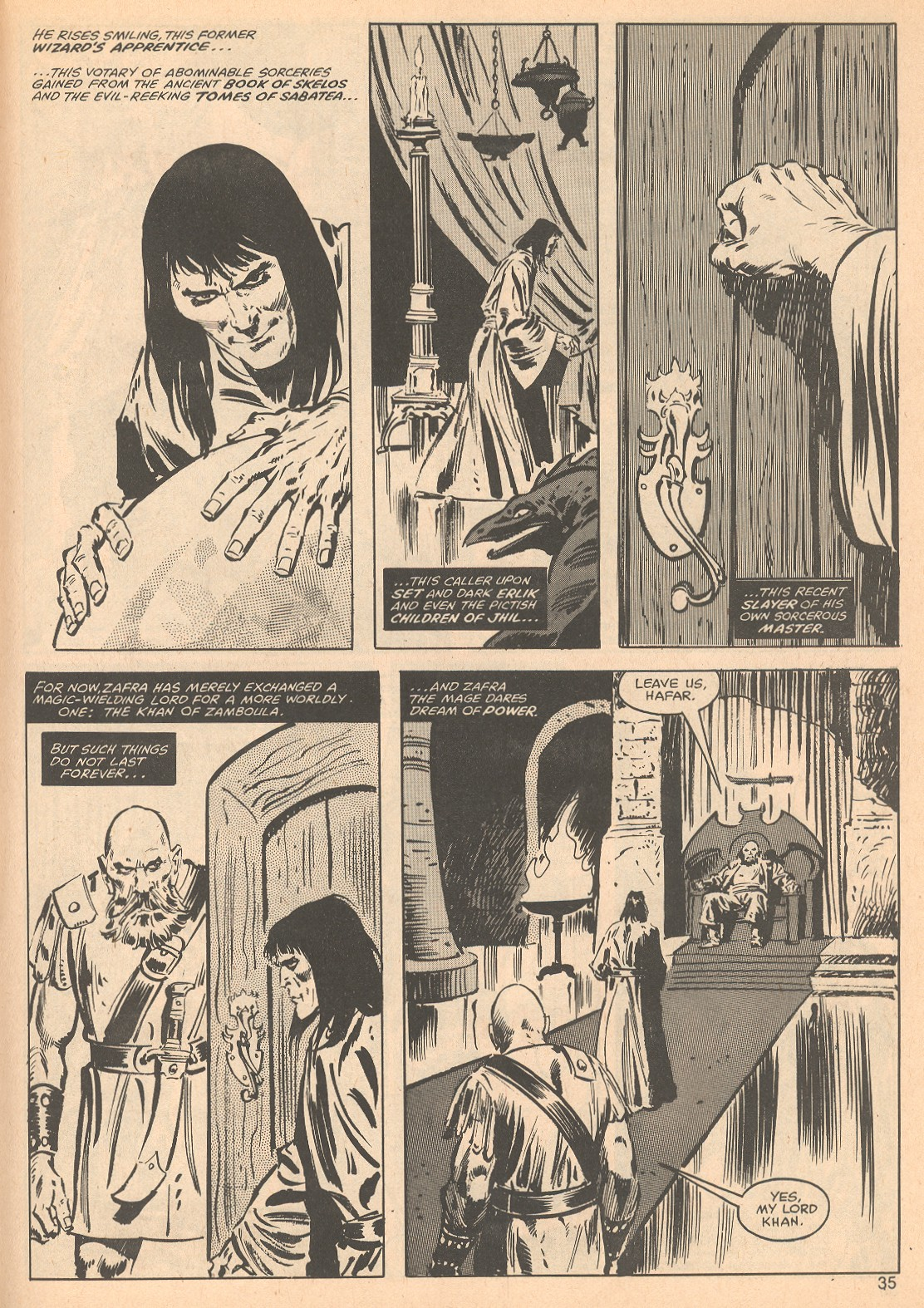 The Savage Sword Of Conan Issue #56 #57 - English 35
